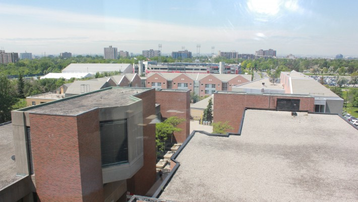 View from Bethune Residence Room