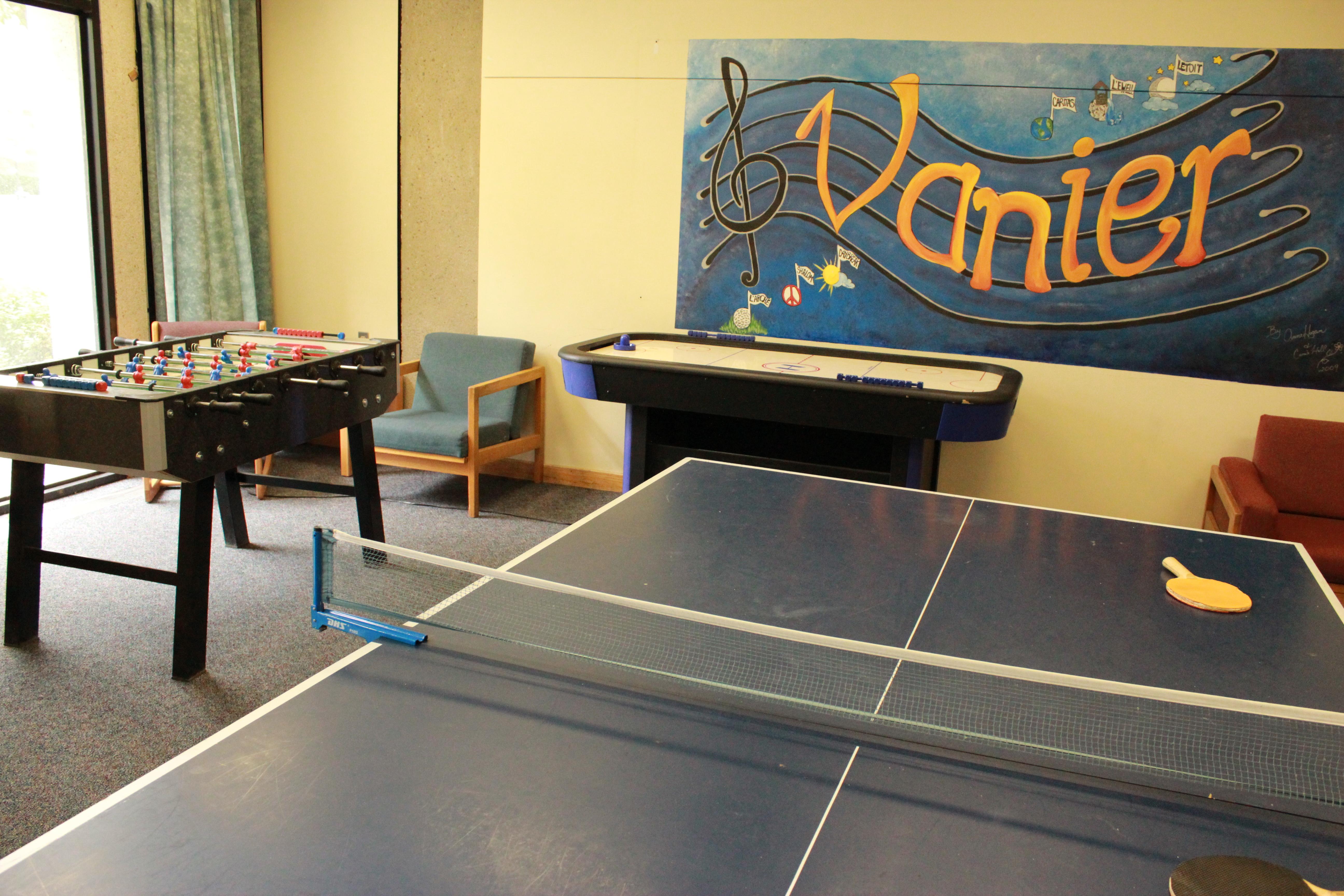Vanier Residence Common Room