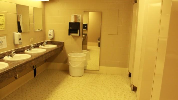 Calumet Residence washroom