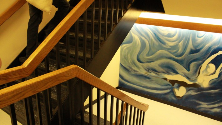 Winters Residence stairs
