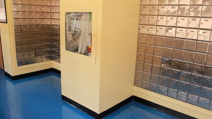 Calumet Residence Mail Room