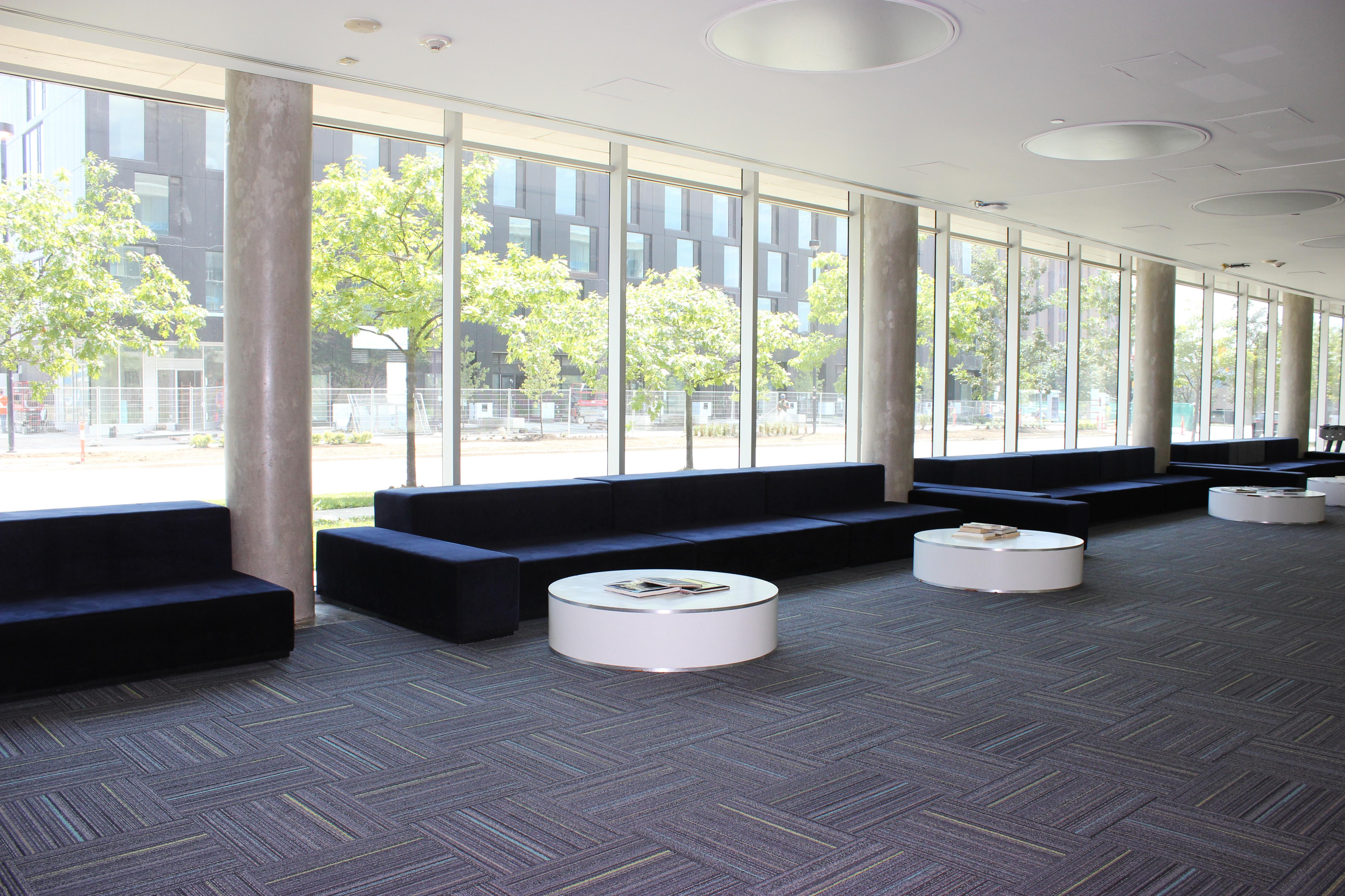Pond interior, lobby, sofa area