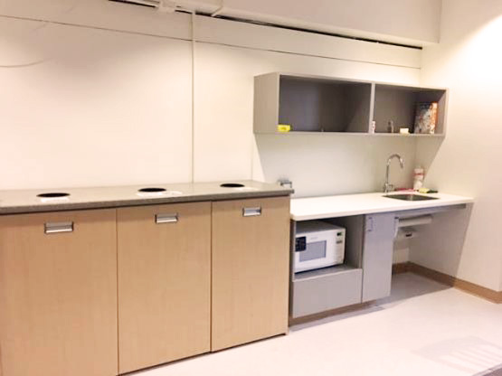 image of Vanier Common room kitchen