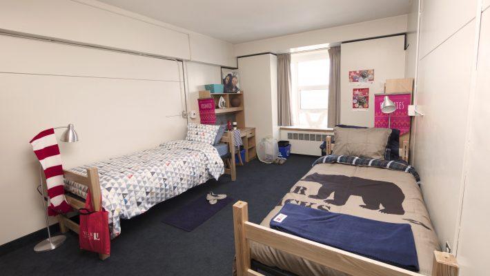 Vanier interior double room