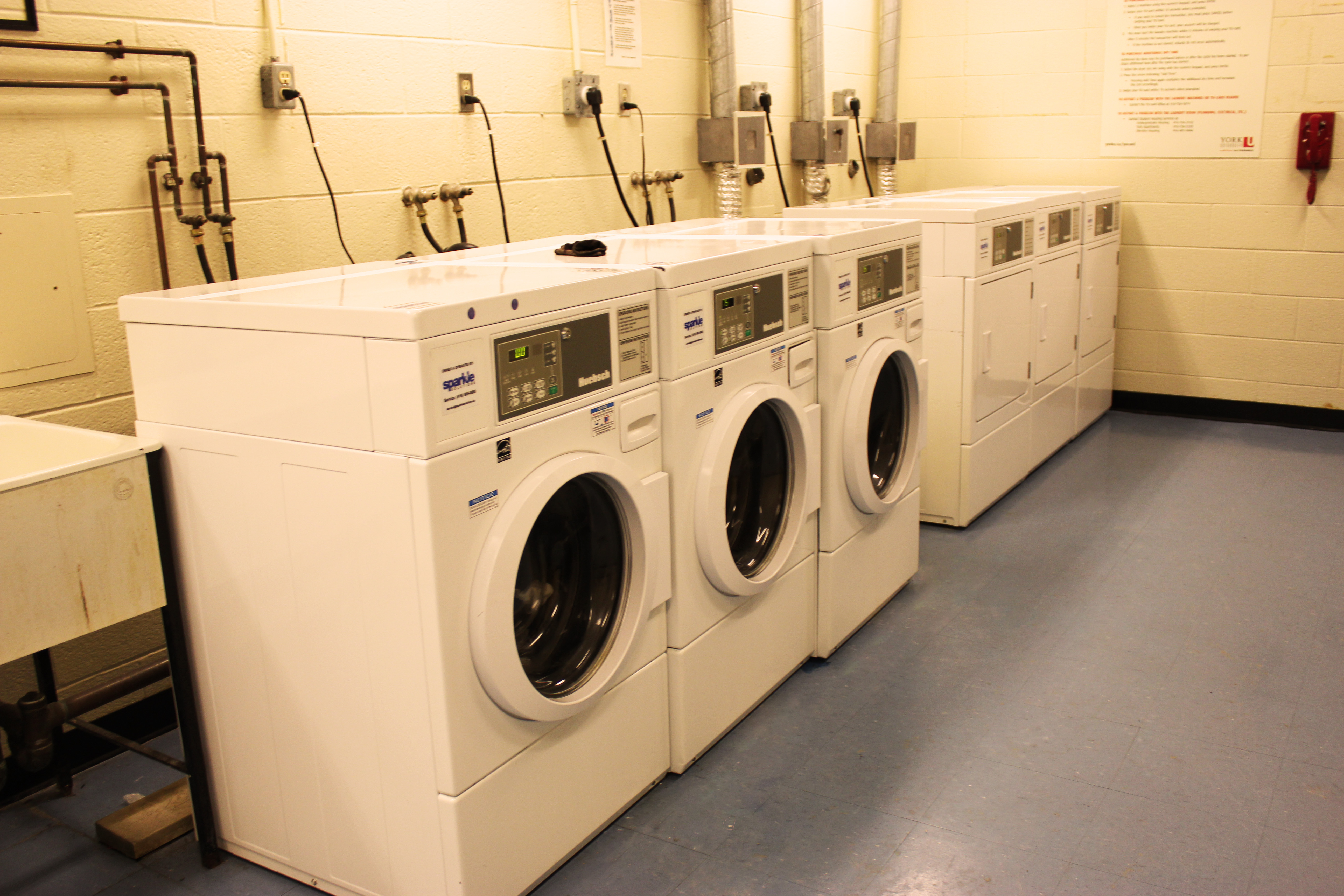 Vanier Residence Laundry Room