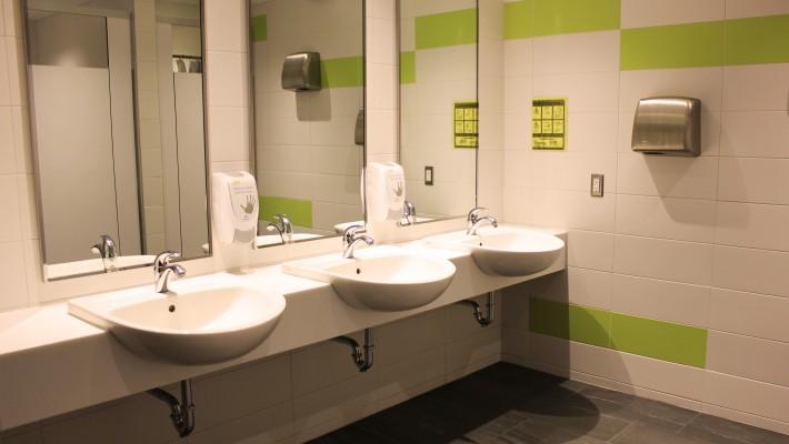 Vanier Residence Washroom