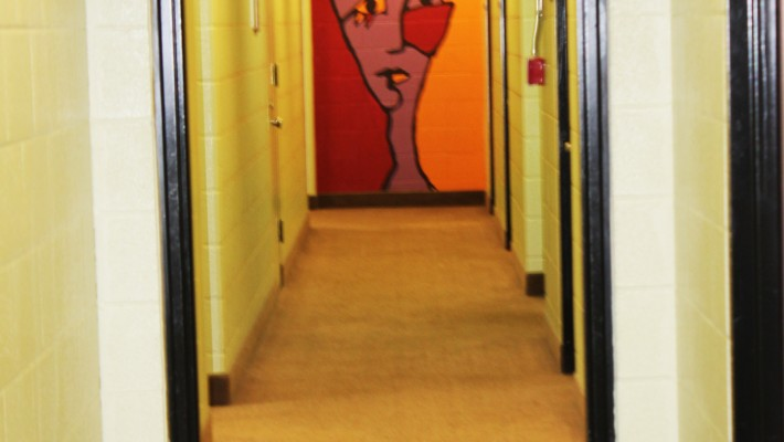 Winters Residence Hall Way