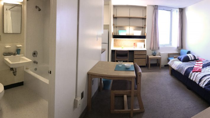 image of bachelor apartment full view
