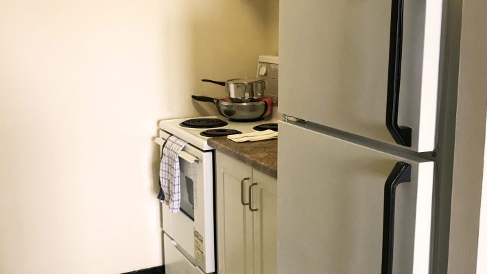 image of one-bedroom apartment kitchen