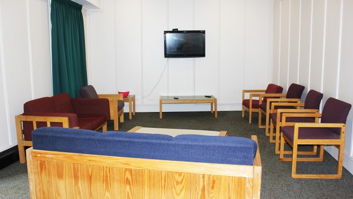 Wood residence common room
