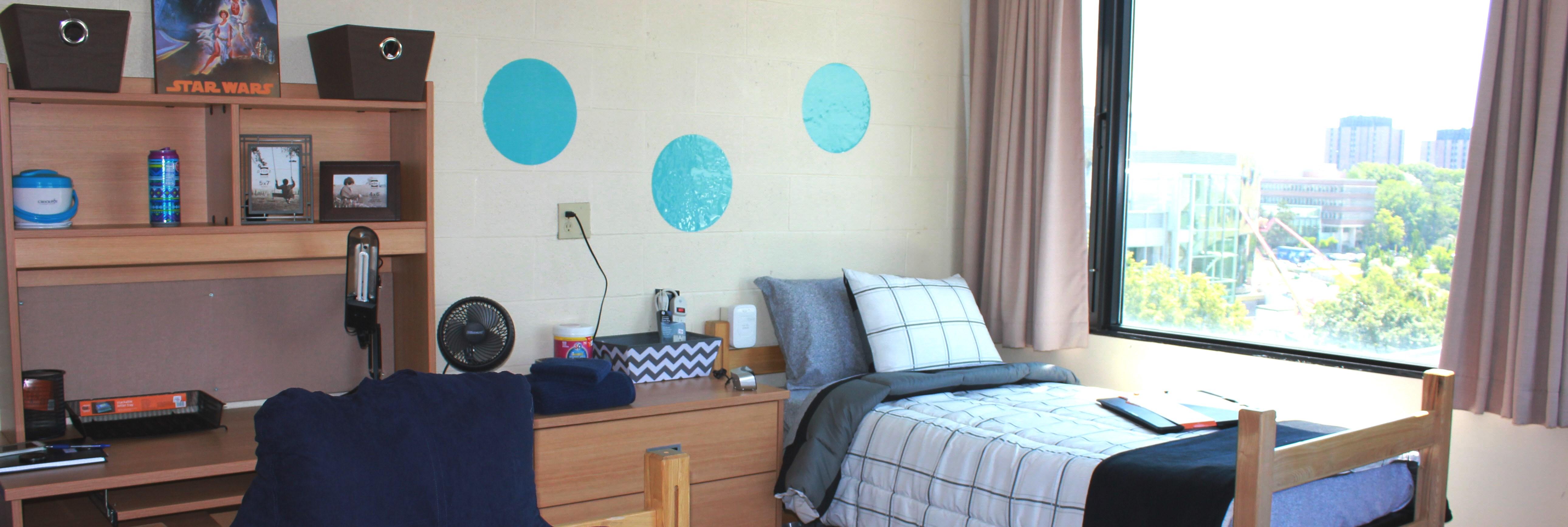 Bethune residence double room